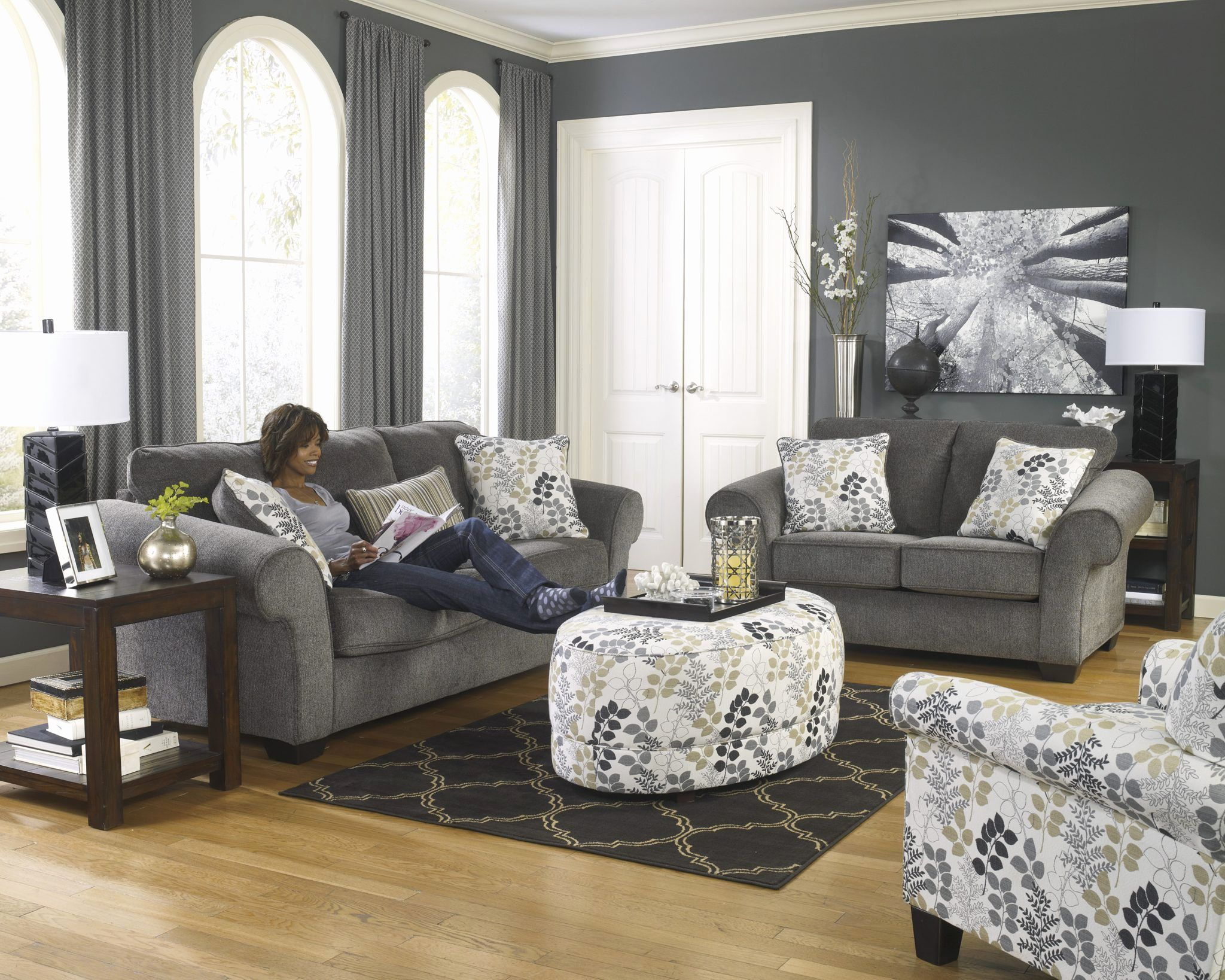 Amazing Grey Sofa And Loveseat Set Photograpy Sofas Magnificent