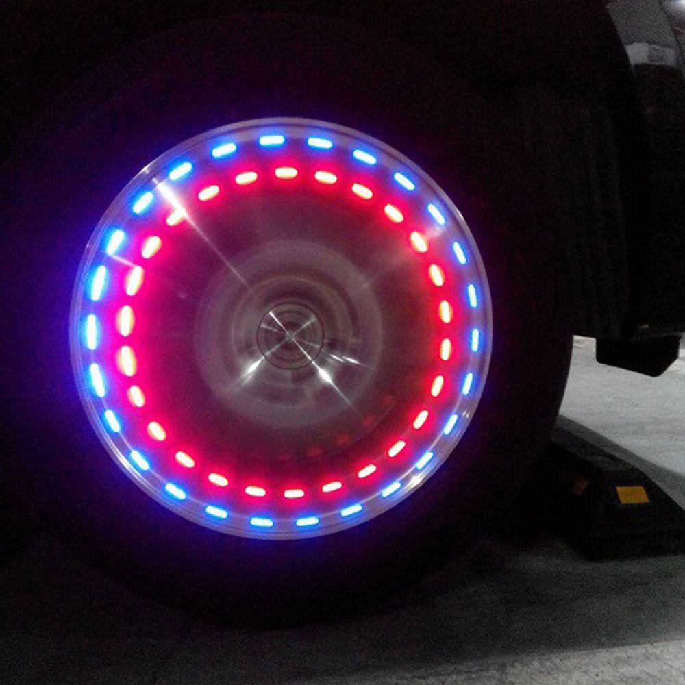 Led Per Auto Tuning.Hot Sale 1pc Waterproof Solar Car Tuning Gas Nozzle Cap Lamp