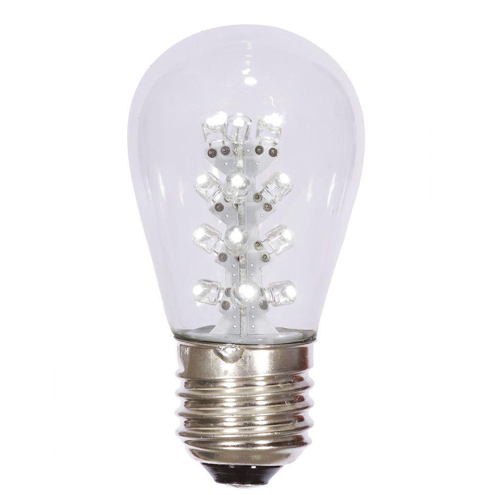 Vickerman Transparent Pure White S14 Led Replacement Bulb Led Replacement Bulbs Bulb Pure Products