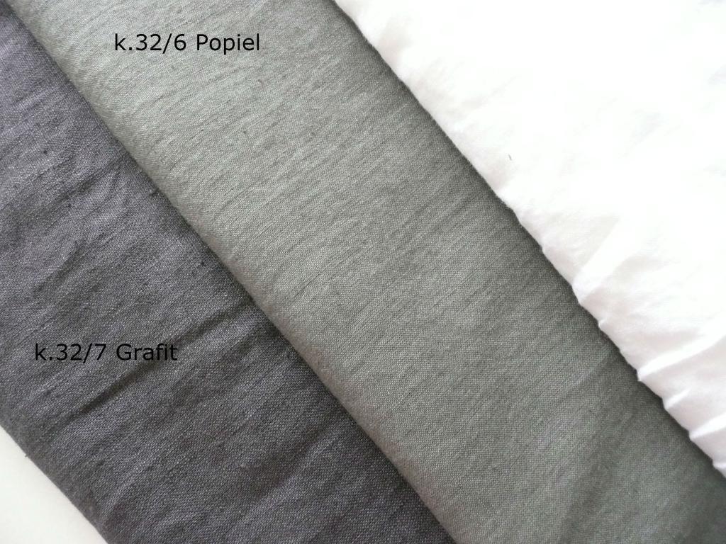 19f927b921 LEN 100% odzieżowy zmiękczany Popiel   GRAFIT