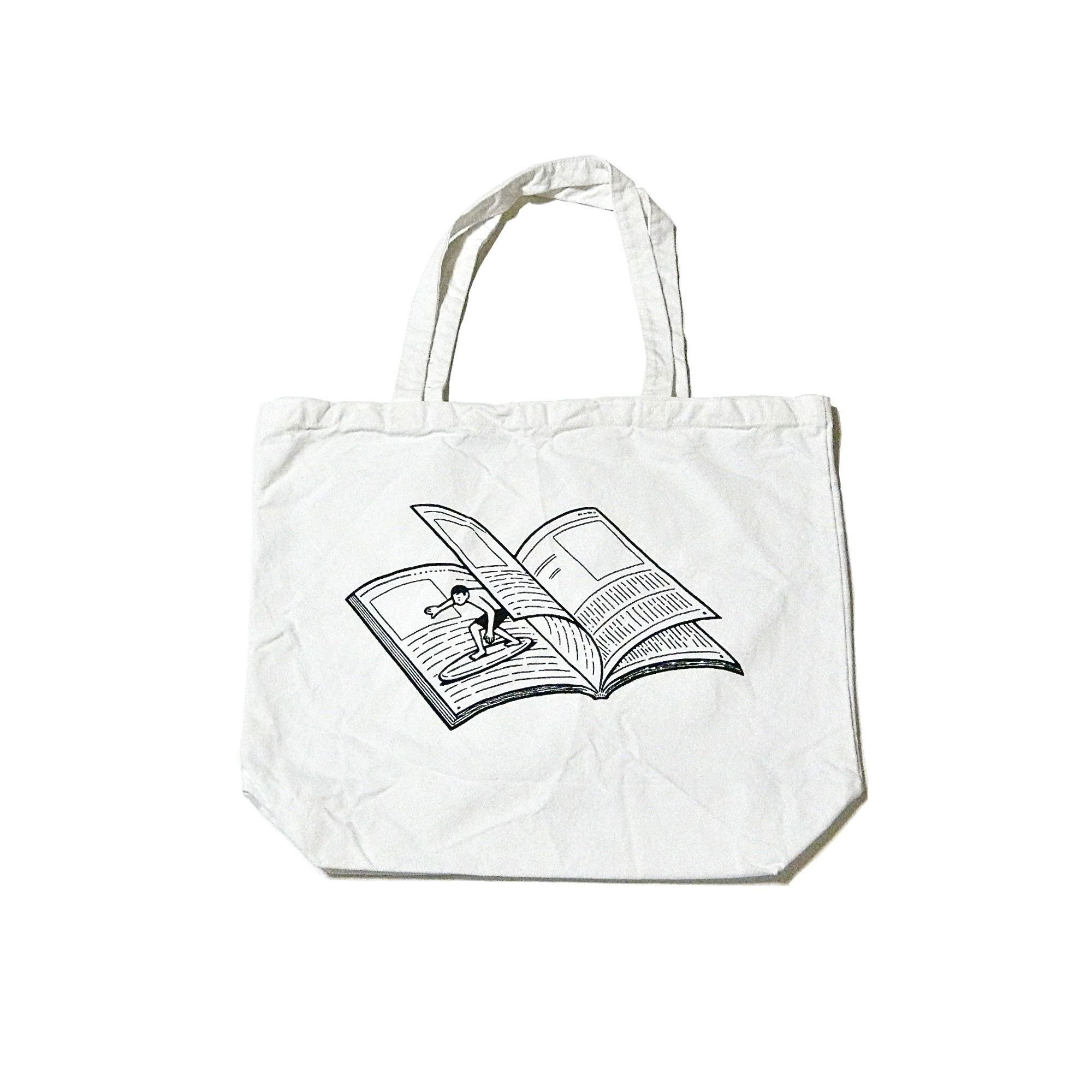Tote bag template illustrator - Noritake Tote Bag Magazine Wave