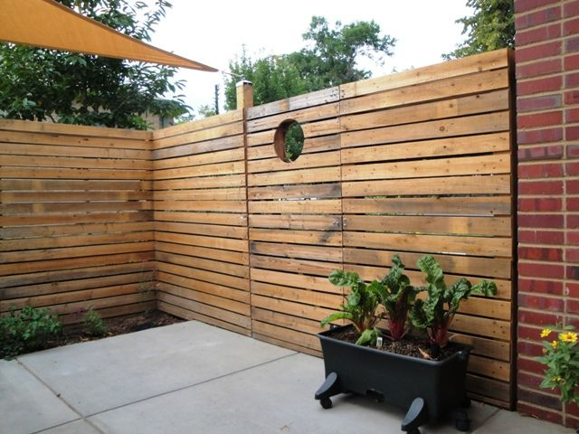 Google image result for for Wood pallet privacy walls