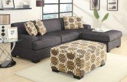 Linen Sectional Sofa - Orange County Furniture Warehouse, F7447