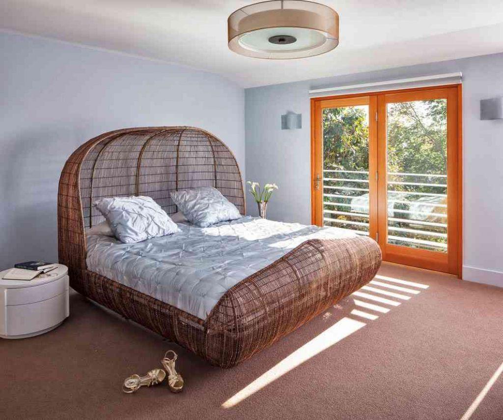 rattan bedroom furniture indoor bedroom interior