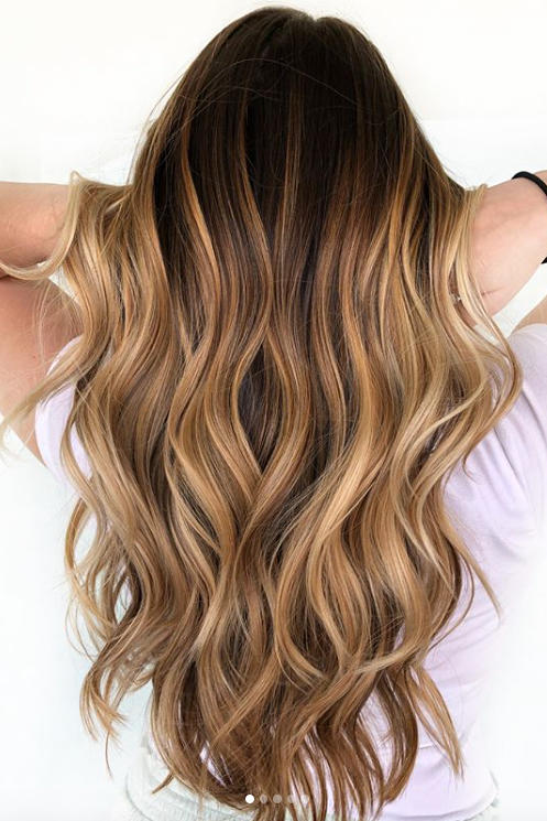 """Cold Brew"" Hair Is Trending for Fall—And Brunettes Everywhere Are Buzzing with Excitement -   18 hair Brunette honey ideas"