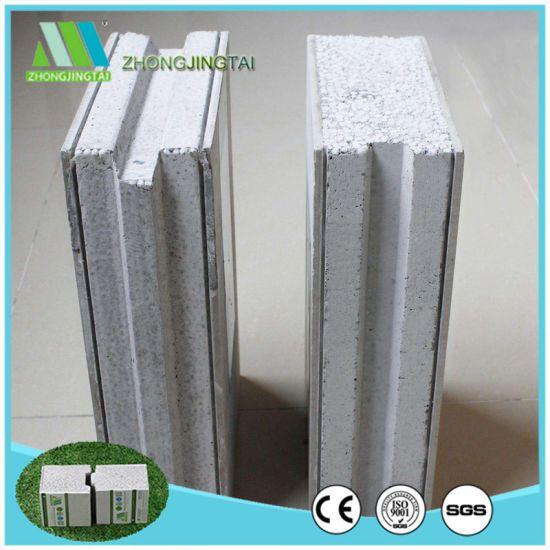 Anti Seismic Sound Concrete Foam Board Eps Cement Sabdwich Panel For Building China Eps Cement Sandwich Panels Blocos De Encaixe Construcao De Casas Concreto