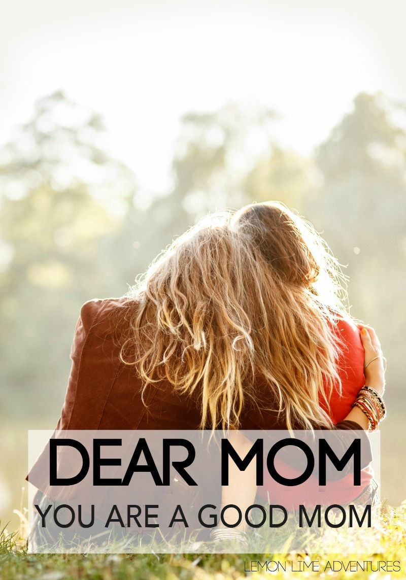 Dear Mom on Those Really Tough Days (With images) Dear