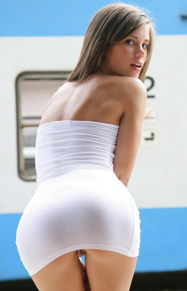 Hot sexy white ass