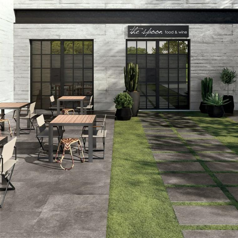 Carrelage Exterieur 50 Belles Photos Pour Faire Votre Choix Patio Modern Garden Garden Floor
