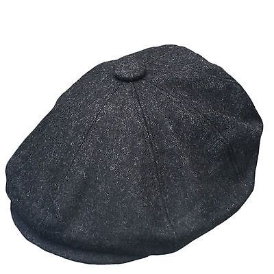 G/&H 8 PANEL BAKERBOY,NEWSBOY,PEAKY BLINDER FLAT CAP 1920S CABBIE CHRISTMAS GIFT