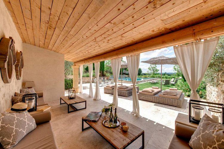 Spectacular Outdoor Living Spaces (25 Photos) - Suburban ... on Attached Outdoor Living Spaces id=65664