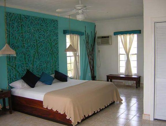 40 habitaciones incre bles en color turquesa diseno de - Habitaciones de color verde ...