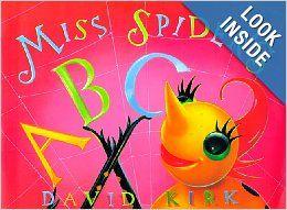 Miss Spider's Abc Book: David Kirk: Amazon.com: Books