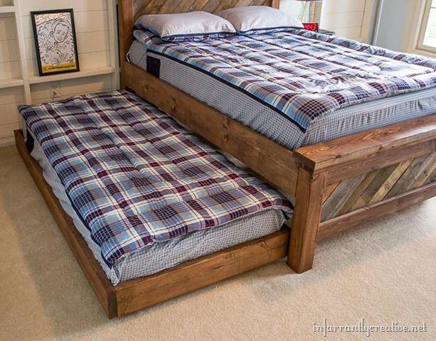 Diy Rolling Trundle Bed Plans Trundle Bed Plans Trundle Bed