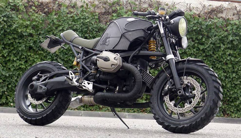 2007 bmw r1200s crd#48cafe racer dreams motorcycles, spain