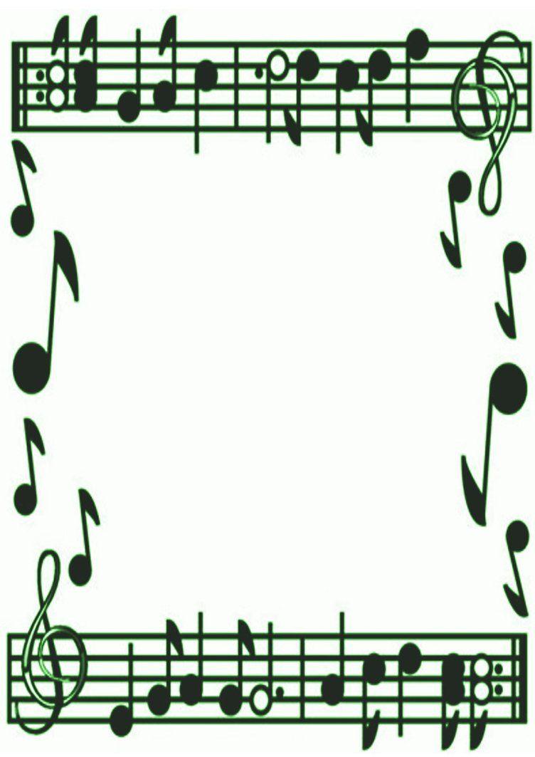 Music Note Border Clipart Clipart Panda Free Clipart Images Music Border Clip Art Borders Music Clipart