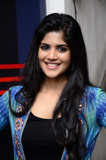 Megha Akash Lie Thank Meet Photos Actress Megha Lie Movie Event