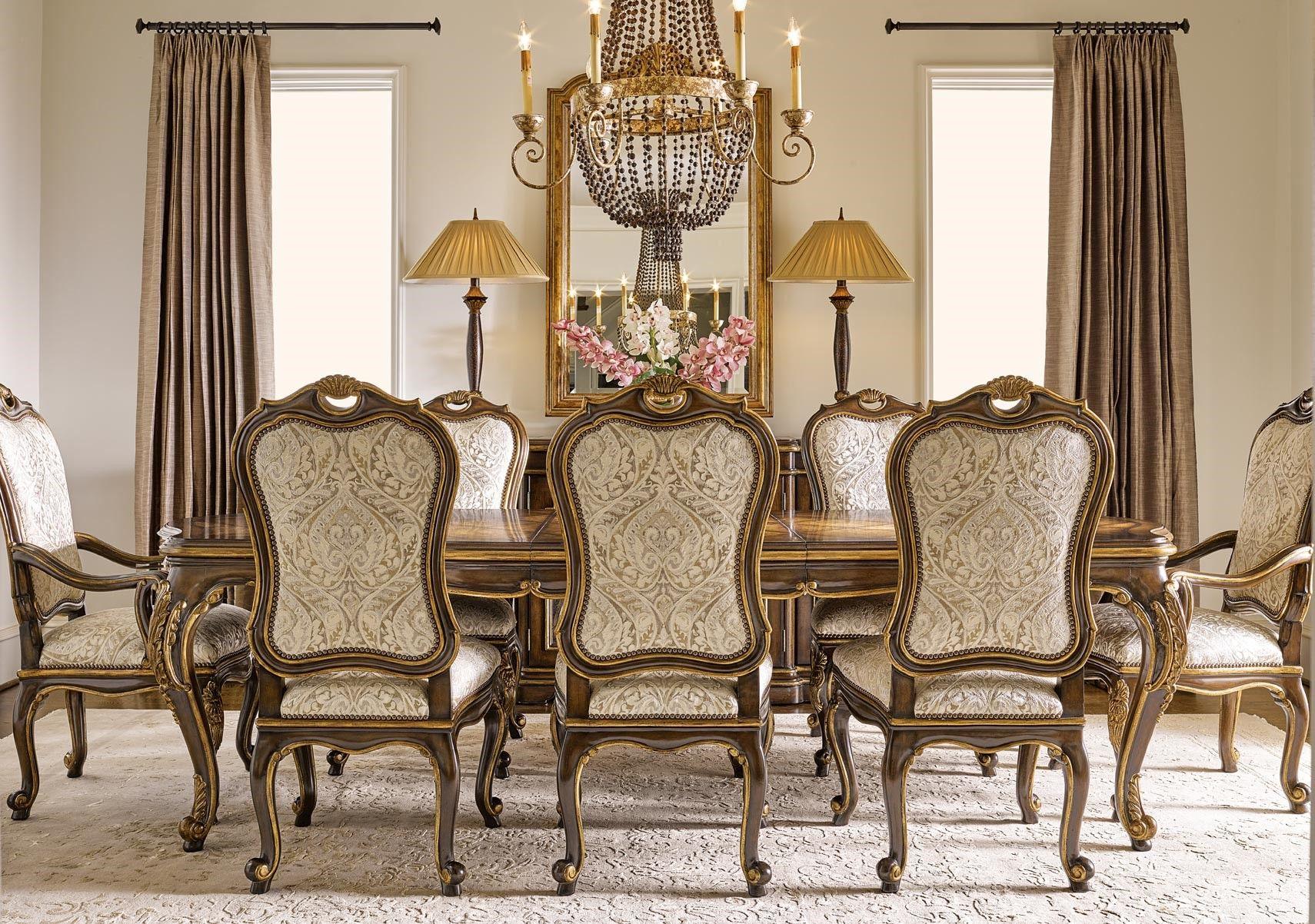 Lacks | Aria 9 Pc Dining Room Set