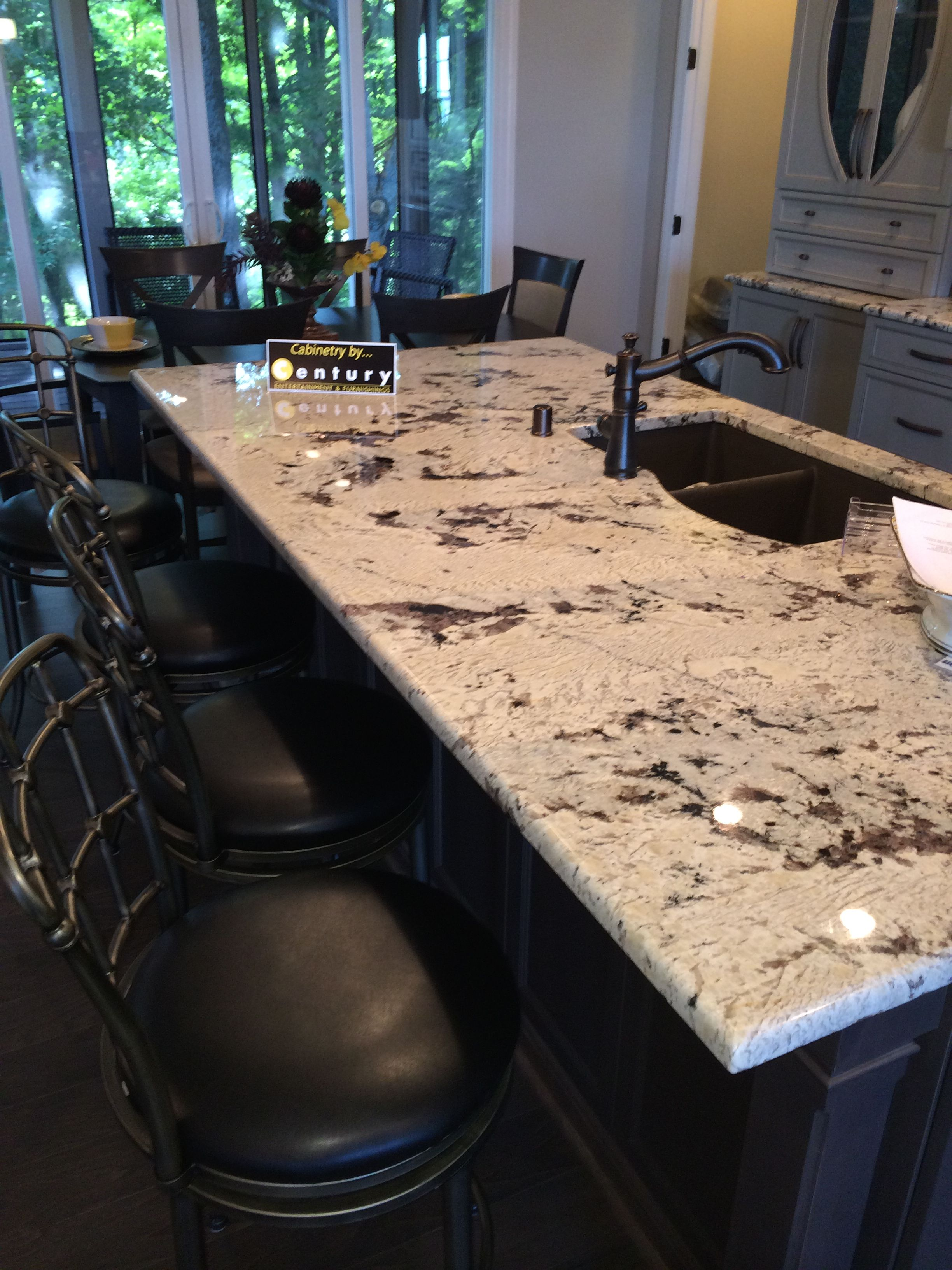 Best Vintage Alaska Ice Brown Glacier White Granite Island 400 x 300