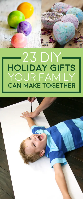 Photo of 23 DIY Weihnachtsgeschenke, die Ihre Familie zu Hause machen kann
