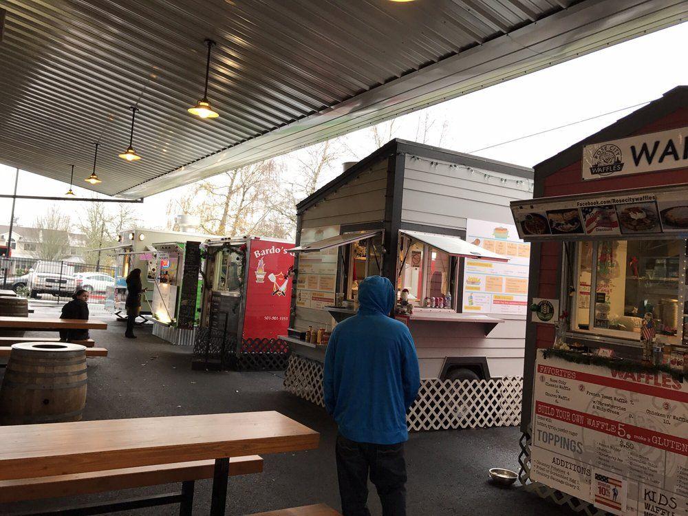 Happy Valley Station - food carts & beer near Bob & Peg ...