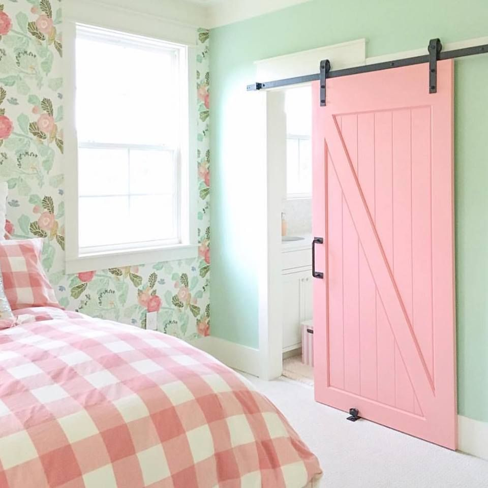 Z Barn Door Bedroom Redesign Big Girl Bedrooms Little Girl Rooms