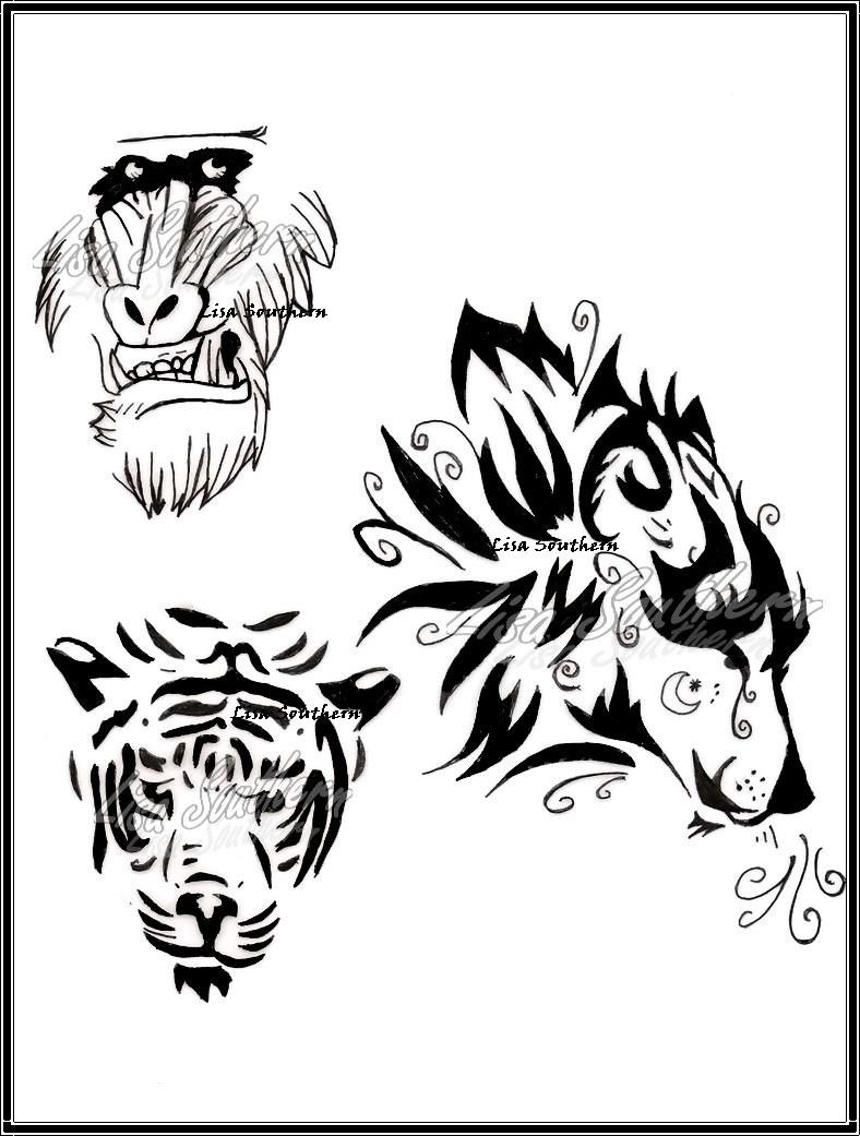 animal tattoo by lsouthern designs interfaces tattoo design 2010 2015 ...