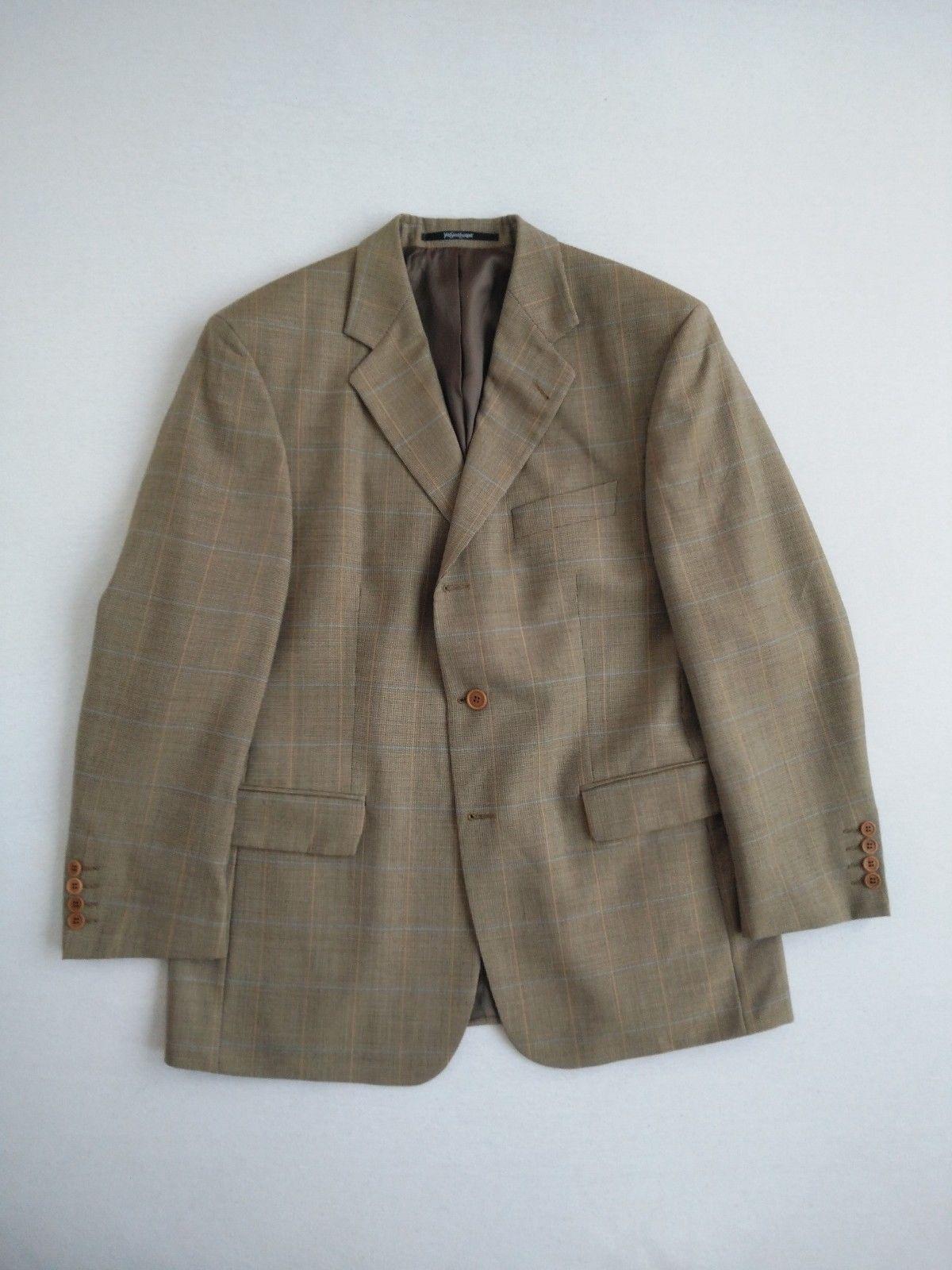 f5b58fb1ddb YVES SAINT LAURENT - YSL Pour Homme - Jacket Blazer - SZ 26 52 EU IT 42 US  UK (eBay Link)