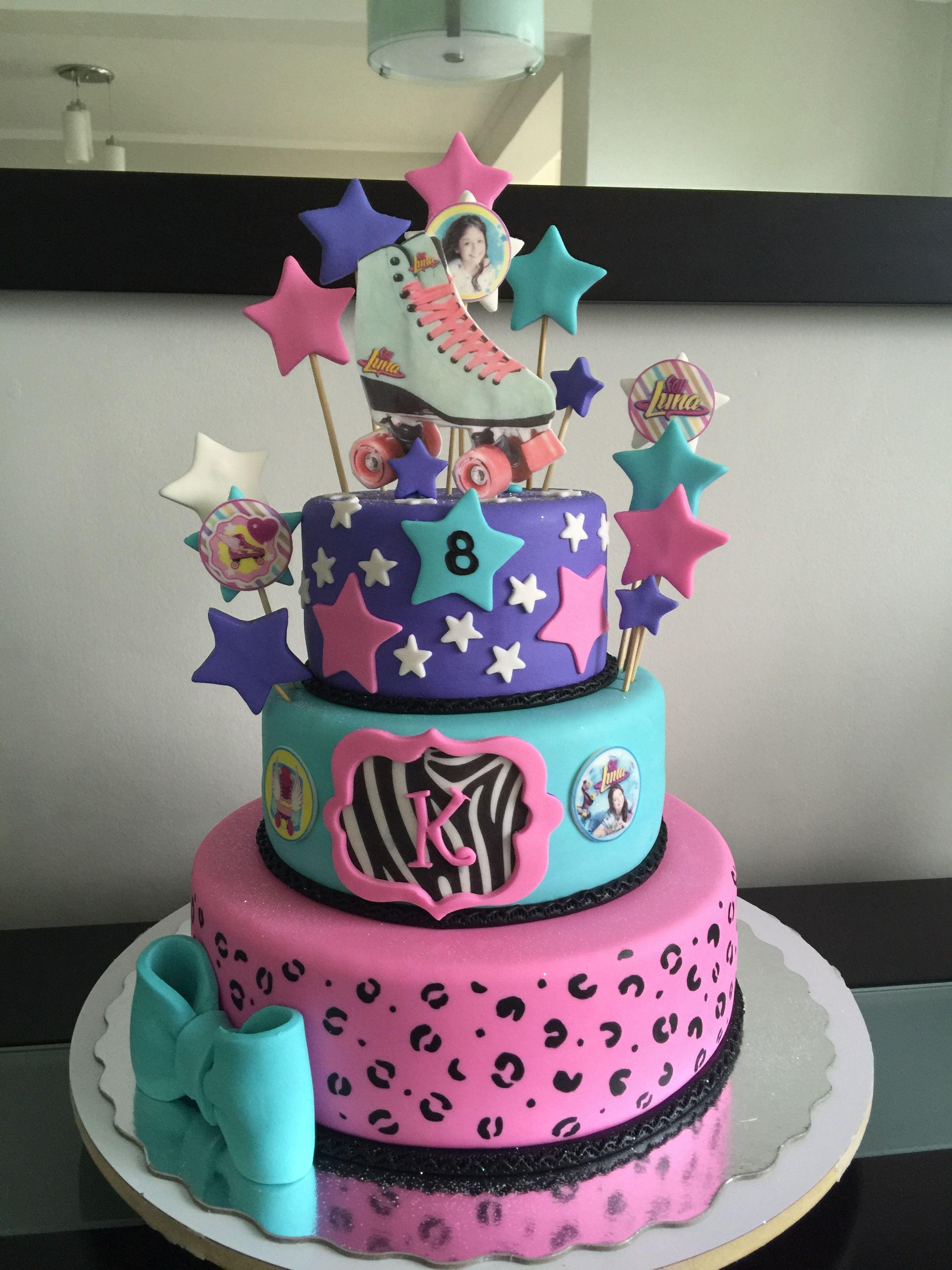 Cake soy luna pineapple cake pasteles para ni os de - Bizcocho cumpleanos para ninos ...