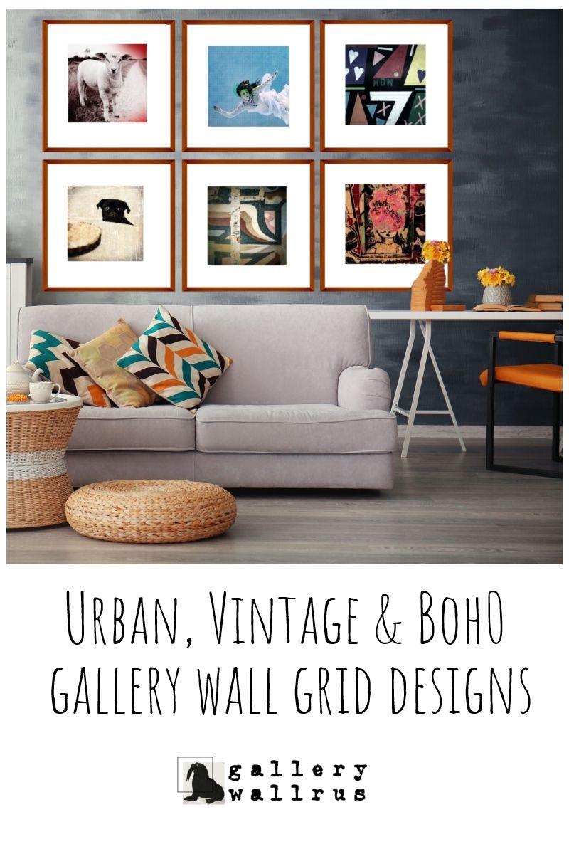 Urban Vintage Boho Gallery Grid Designs Worldwide Printing