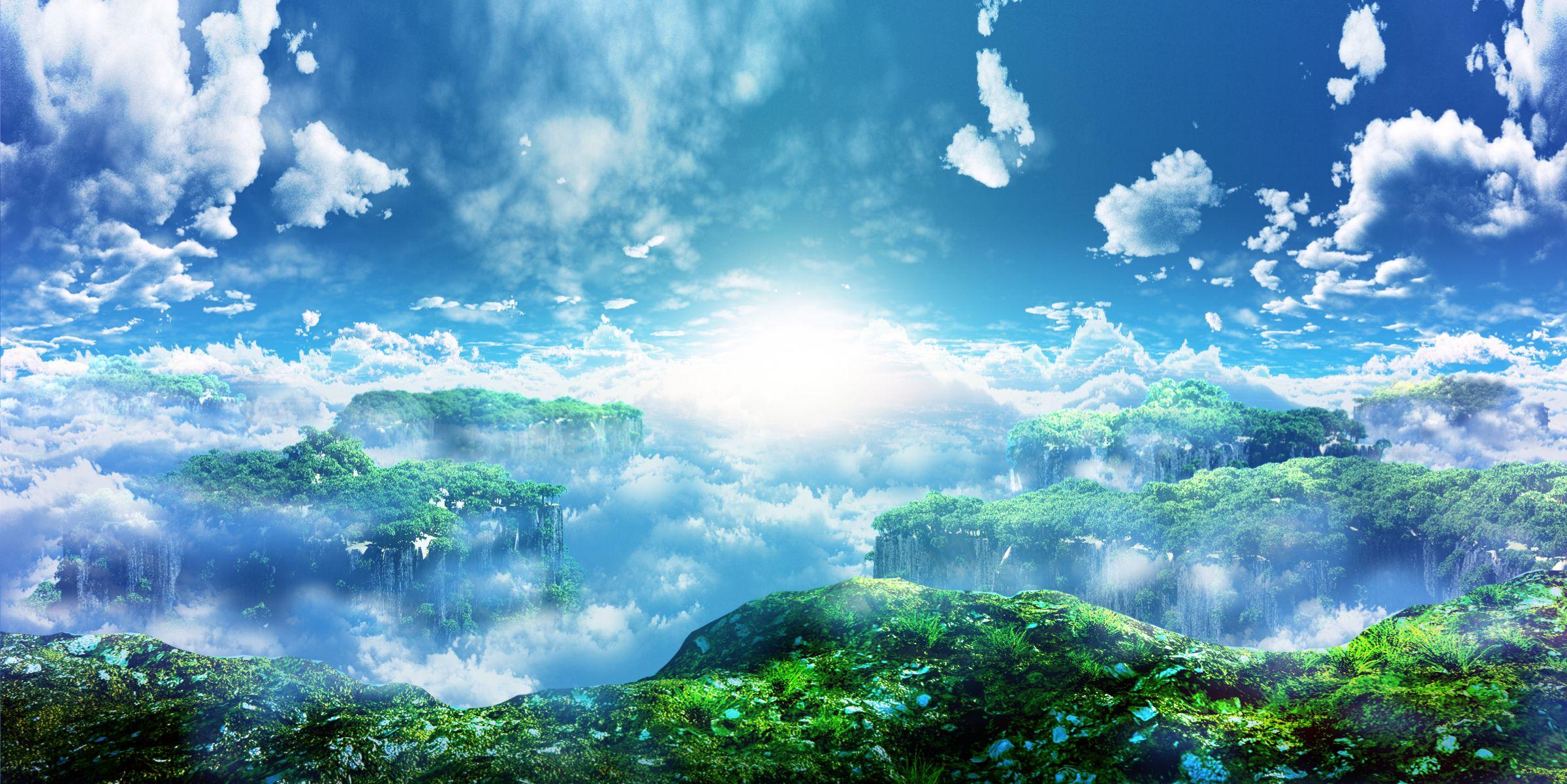 Original 3d clouds landscape nobody original scenic sky y
