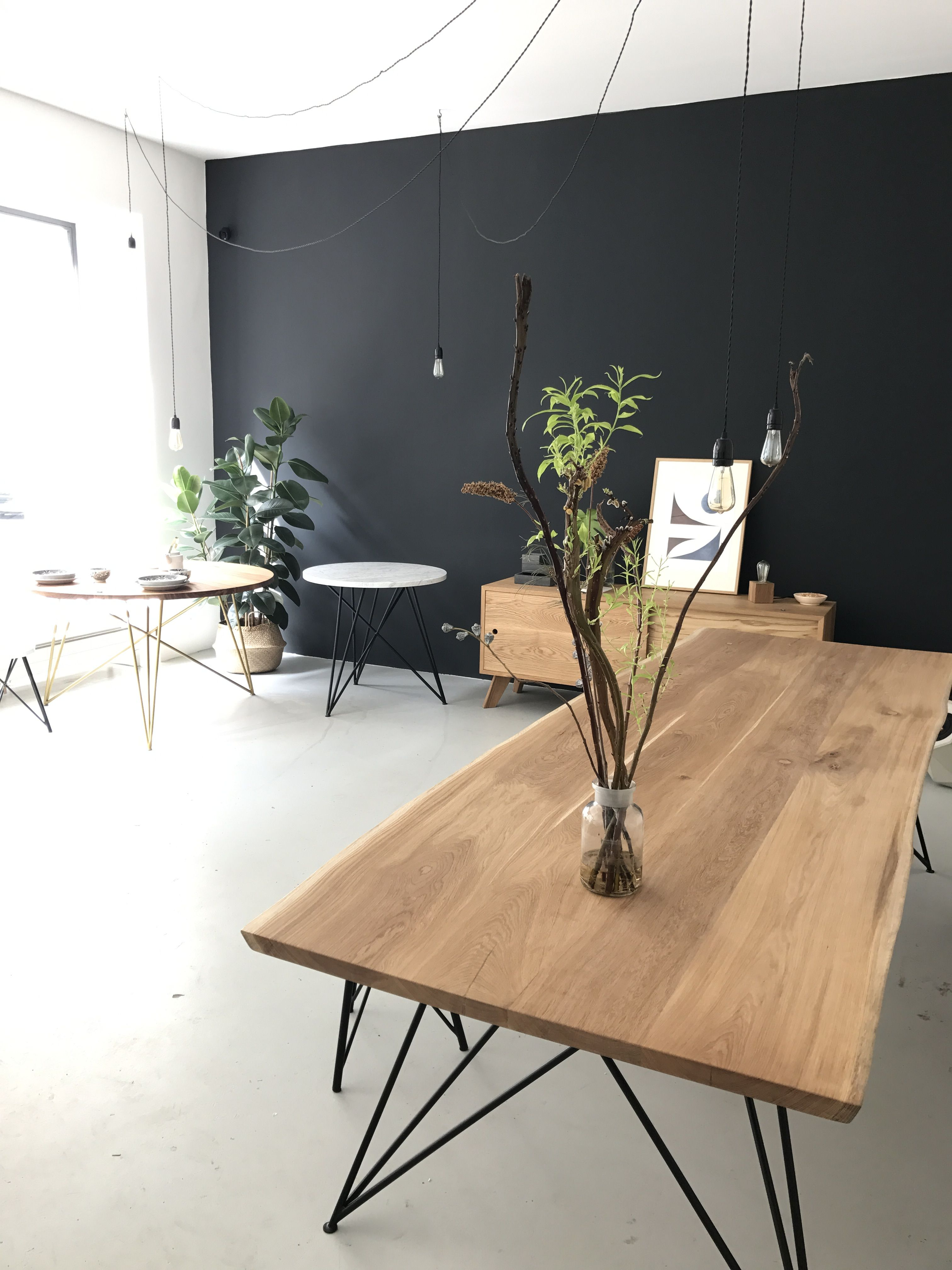 Our Oak Table Slim | NUTSANDWOODS - Furniture Design | Pinterest ...