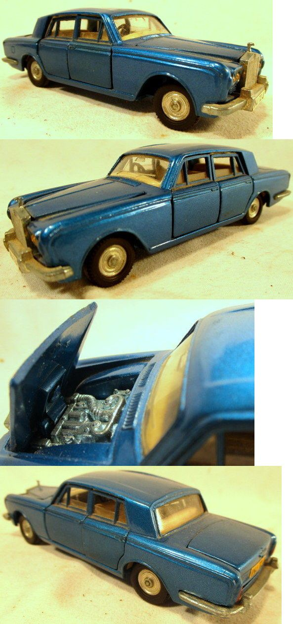 Luxury Cars: 1960S Vintage Dinky Toys Rolls Royce Silver Shadow ...