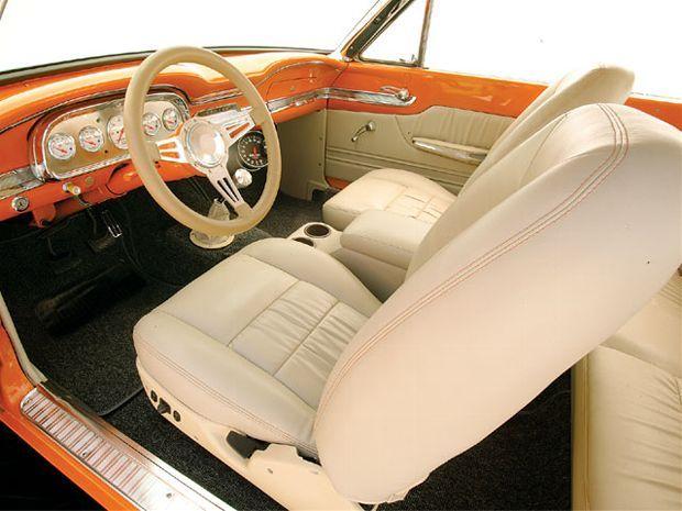 Mufp 0806 11 Z 1963 Ford Falcon Sprint Interior De Autos Autos