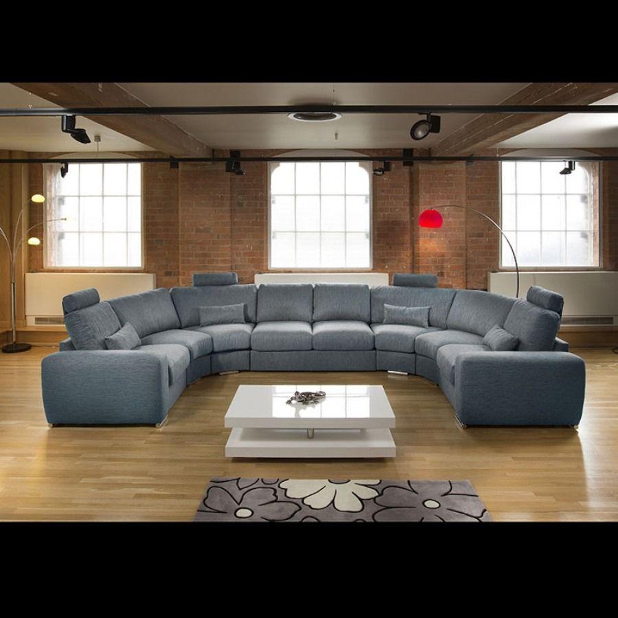 Massive Ultra Modern High Quality U Shape Sofa Corner Group Blue 5l U Shaped Sofa Modern Sofa Designs Sofa Design