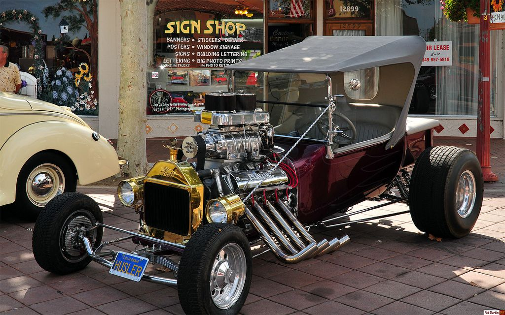 1923 Ford Model T Roadster Pickup Modified Hotrod Front