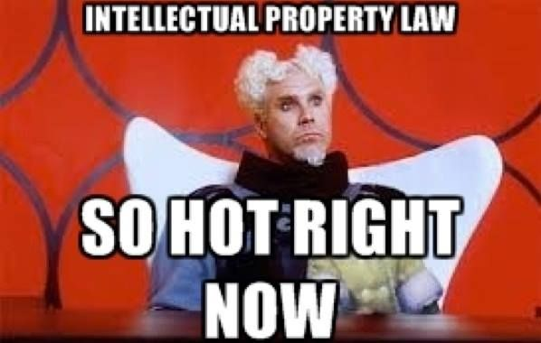 Intellectual Property Law So Hot Right Now Zoolander Superhero Movies Movie Releases Lawyer Humor