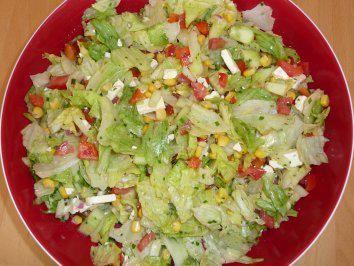 Photo of Barbecue salad a la Nadine – recipe with picture