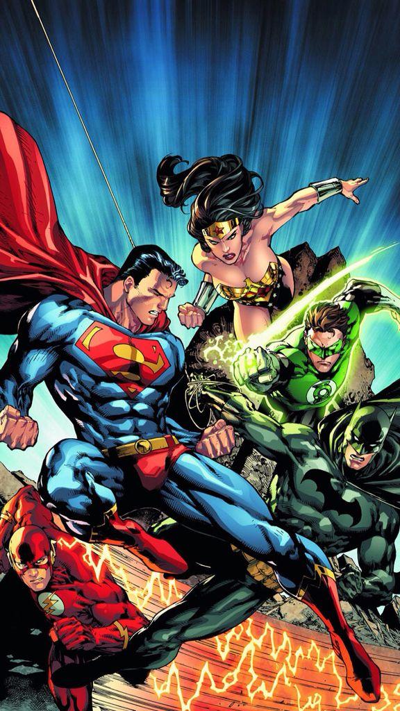 The Justice League. (With images) Dc comics art, Dc