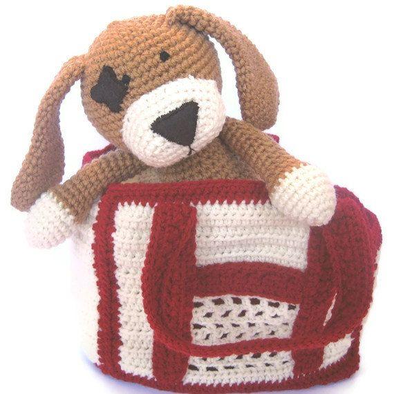 Pet Dog Crochet Pattern By Crochetnplaydesigns On Etsy Crochet
