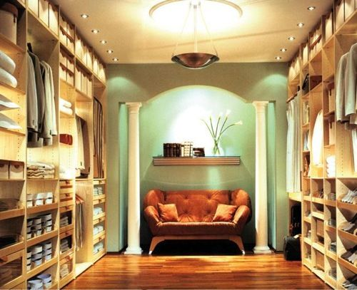 Luxury Walk In Closet By Crazy Closets, I Will Have This One Day And
