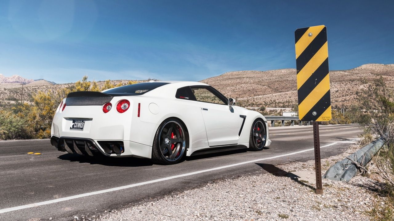1280x720 Nissan Gtr Tuning Car Wallpaper