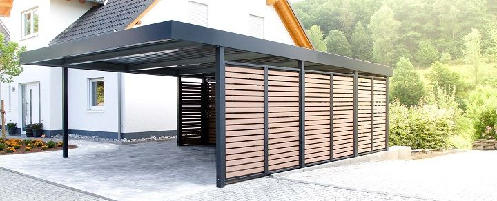 Carports Modern sheltered space and carports for sale junk mail home