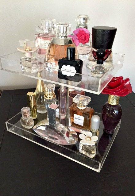 2 And 3 Tier Perfume Tray Perfume Organizer Perfume