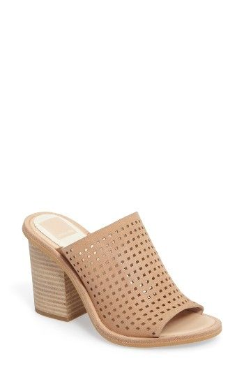 8d4685f532b Free shipping and returns on Dolce Vita Wales Slide Sandal (Women) at  Nordstrom.com. Perforated leather enhances the breezy appeal of a  wear-with-anything ...