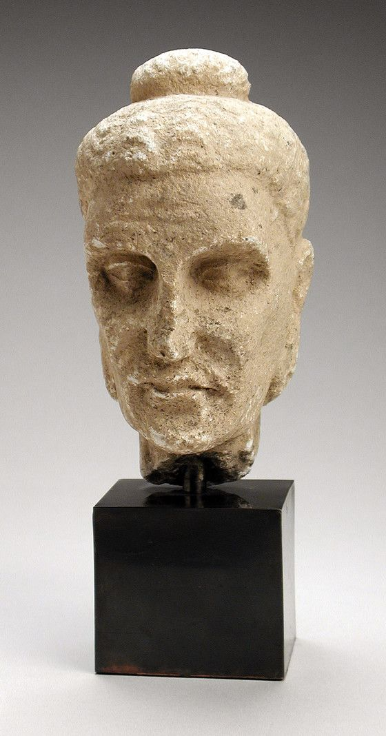 Head of the Emaciated Buddha Afghanistan or Pakistan