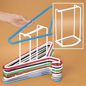 Hanger Caddy Save E Stacks And Organizes Unused Clothes Hangers Don T Let Clutter Your Closets Shelves Neatly Easily