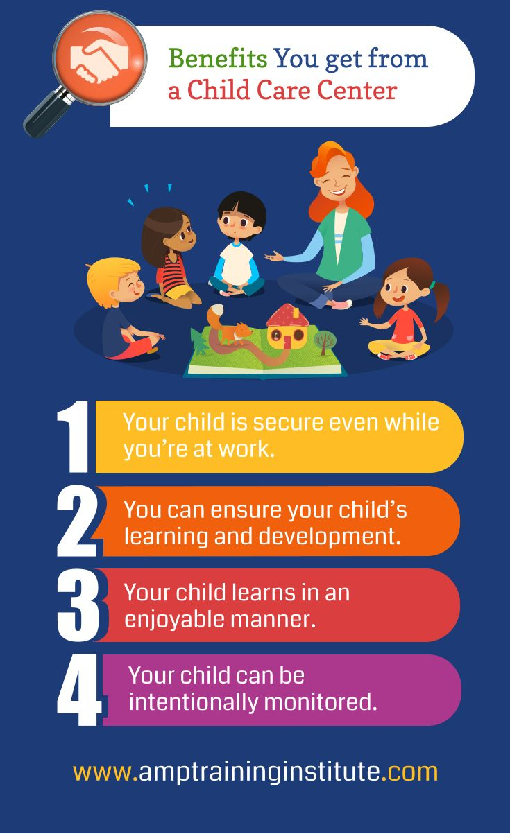 Benefits You Get From A Child Care Center Benefits Childcare Child Care Training Childcare Center Childcare