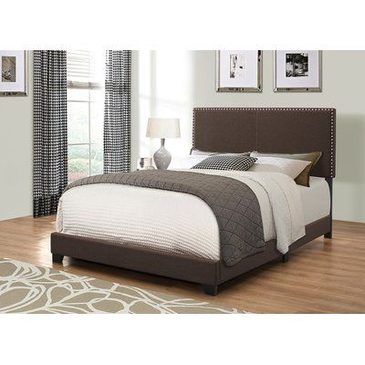 Winston Porter Kachinsky Upholstered Panel Bed Size Twin, Color