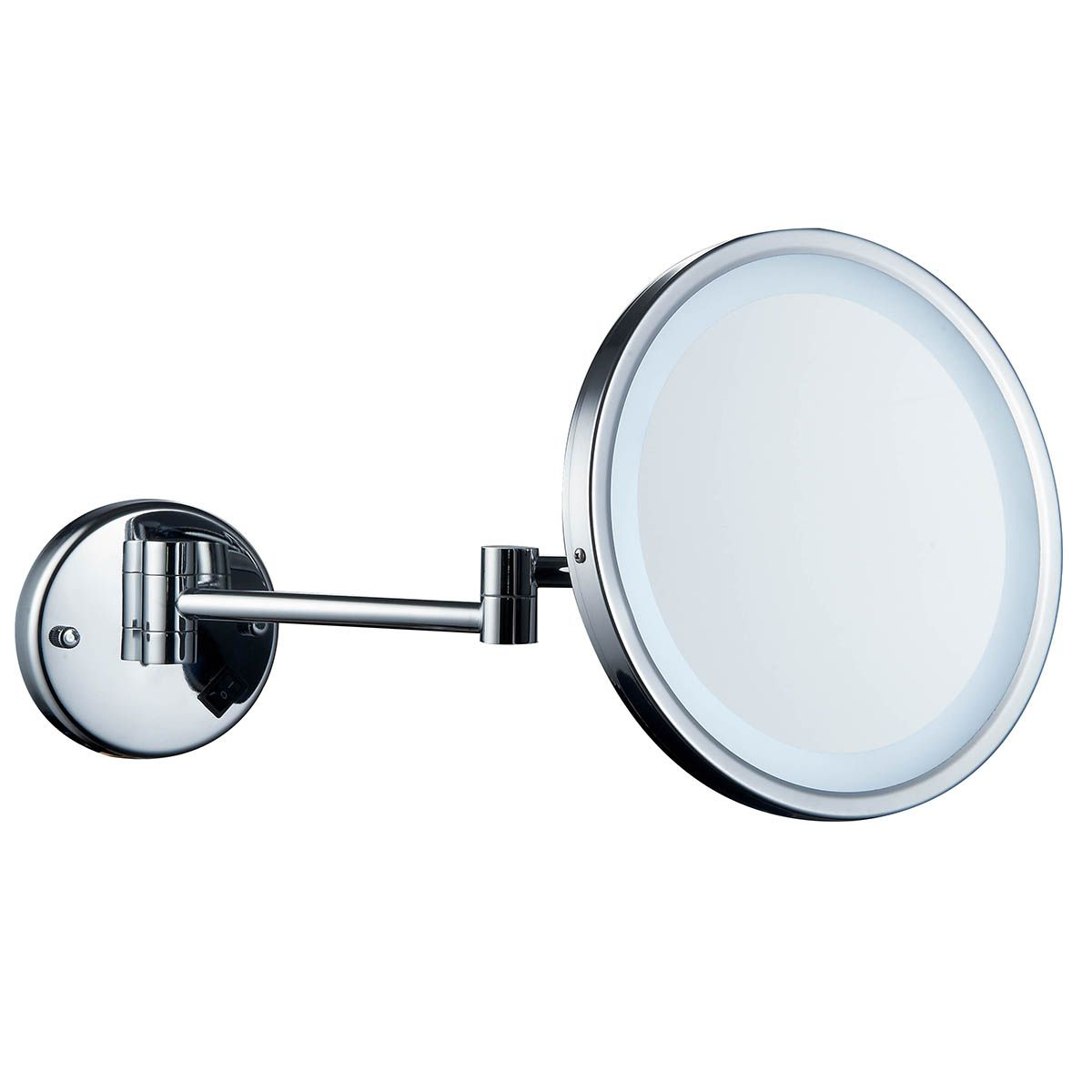 Excelvan 7x Magnification Wall Mount Makeup Vanity Mirror Jerdon Mounted Wiring Diagram 10 Inch Large Square Light Up Cosmetic